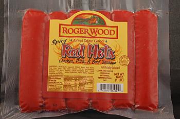 Red Hots 1 Lb 171 Roger Wood Foods