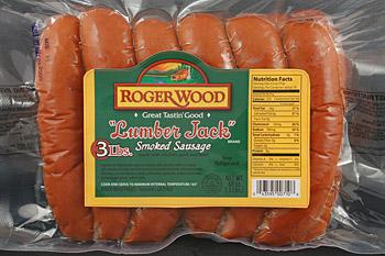 Lumber Jack Smoked Sausage 3 Lbs 171 Roger Wood Foods
