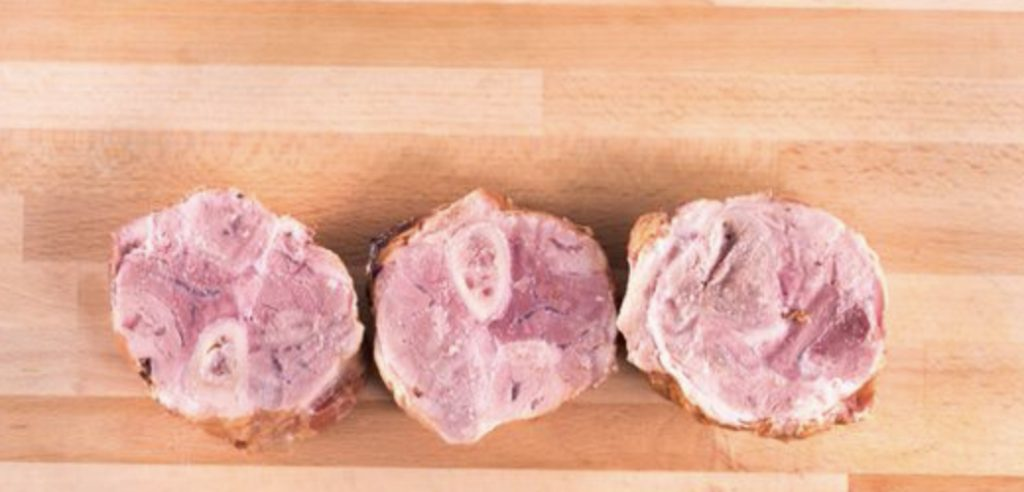 Pork Shank sliced